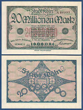 Colonia 20 millones 1923 kassenfrisch/UNC