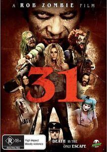 Rob Zombie's 31 DVD Brand New