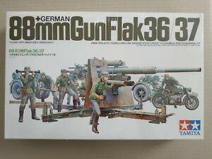 Maquette 1/35 Tamiya 35017 German 88 mm gun flak 36/37 _neuve !