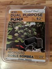 Dp400 Dual Purpose Pond And Fountain Pump by Beckett