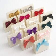 Large 5cm Satin Bows -  Self Adhesive Pre Tied Sticky Ribbon Bow Wedding Craft