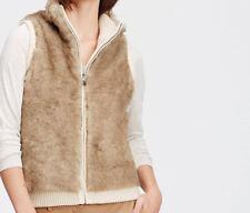 Ann Taylor Reversible Faux Fur Vest - NWT Size XS $149