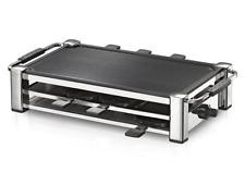 ROMMELSBACHER RCC 1500 Raclette-Grill (Tischgrill, für 8 Personen, gerippte Alu-