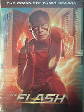 THE FLASH TV SERIES COMPLETE SEASON 1 2 3 DVD BUNDLED SET OF 3 SEALED