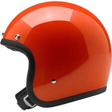 Biltwell Bonanza Open Face Motorcycle Helmet - Choose Size & Color