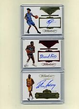 2015-16 Panini Flawless Bask.  Autograph lot King/Horry/Payton-Take All 3 CARDS!