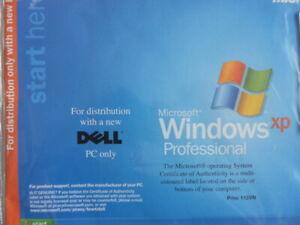 Vintage Microsoft Windows XP Dell PC Computer Installation software discs 1995 -