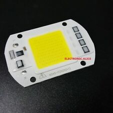 220V- 50W- 60X40MM- White- Integrated Smart Driver LED Floodlights COB Chip DIY