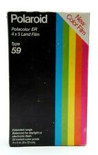 Polaroid Type 59 Polacolor Er 4x5 Color Land Film (20 Prints) #31564