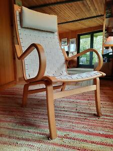 Armchair Club Chair Vintage 60er Easy Chair Danish Westnofa Era Bent Olsen 70er