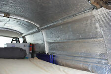 Camper Van insulation, double foil 8.4m(L) roll Off Cuts, Sellotaped Free P&P