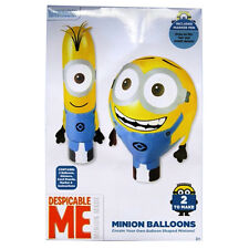 Despicable ME - Make your own large Minion Balloons - Pack of 2 - Balloons, Stic