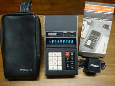 "1972 CRAIG 4503 VINTAGE SANYO ICC-808D ""NIXIE TYPE"" GHOSTBUSTER CALCULATOR!"