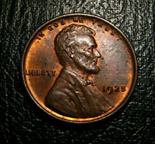 OLD US COINS 1925 UNC CHOICE  Lincoln Wheat Cent Penny