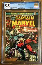 Captain Marvel 33 CGC 5.5 2138744001