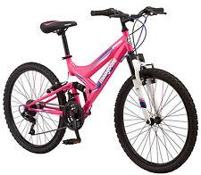"""Mongoose 24"""" Girls Spectra Mountain Bike Bicycle - Pink New Free Shipping"""
