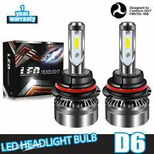 9004 LED Headlight Bulbs for Dodge Ram 1500 2500 3500 1994-2001 High Low Beam
