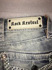 NEW Size 24 Rock Revival Jen Skinny Cut Jeans
