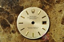 Rolex Silver Tapestry Dial with Gold Sticks Fits model 69173 Lady Size fits 26mm