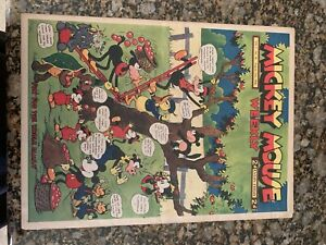Mickey Mouse Weekly Vol. 1 No. 28 August 15th, 1936