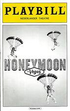 "Tony Danza ""HONEYMOON IN VEGAS"" Rob McClure / Jason Robert Brown 2015 Playbill"