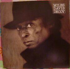 "12"" VERY RARE LP DECOY BY MILES DAVIS (1984) COLUMBIA RECORDS FC 38991 PROMO"