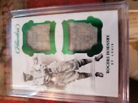 2018 Panini Flawless Rogers Hornsby Dual Patches/5!!