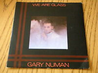 "GARY NUMAN - WE ARE GLASS     7"" VINYL PS"