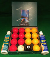 """ARAMITH PREMIER 2"""" REDS & YELLOWS PRO CUP ADDITION & ARAMITH CLEANING KIT"""