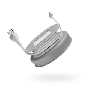 Quirky Powercurl Power Cord Wrap for MacBook Air Charger (Gray)