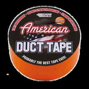 Everbuild New American Duct Tape 50mm x 5mtr Orange