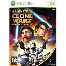 Star Wars: The Clone Wars - Republic Heroes (Microsoft Xbox 360, 2009)