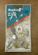 """Makita Router Bit 733126-3A 3/32"""" slotting cutter assembly 3 flute"""