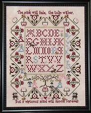 10% Off Praiseworthy Stitches Counted X-stitch chart - Le Jardin de Lapin