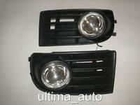 FRONT GRILLE FOG LIGHTS LAMPS for VW GOLF MK5 2003-2008