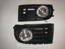 FRONT GRILLE FOG LIGHTS LAMPS for VW GOLF MK5 2003-2008