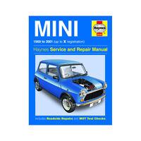 Mini 0.9 1.0 1.1 1.3 Petrol 1969-01 (up to X Reg) Haynes Manual