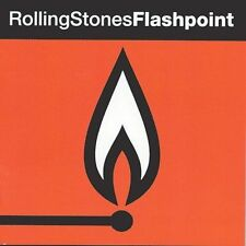 The Rolling Stones Flashpoint CD 1991 1st Holland import pressing