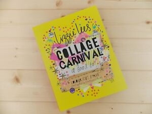 NEW COLLAGE CARNIVAL ART ACTIVITY JOURNAL CREATIVE DESIGN AND CRAFT BOOK GIFT