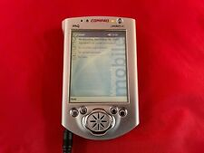Compaq iPaq 3670 Pocket Pc Pda No Ac Adapter Powers on R7/10C