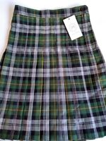 schoolwear Girls Box Pleat Skirt size L22, W28