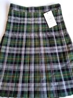 schoolwear Girls Box Pleat Skirt size L20, W28