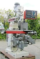 """Tree Journeyman 210 Mill Vertical Milling Machine 44"""" table Axis AS IS"""