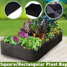 Felt Fabric Plants Grow Bags Raised Garden Flower Bag Elevated Vegetable Box