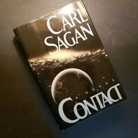 CONTACT by Carl Sagan - First Edition 1984