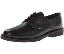 Mephisto Men's Marlon US 11 M Black Grained Leather Oxfords Shoes $400.00