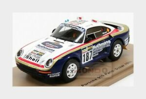 Porsche 959 #187 6Th Rally Paris-Dakar 1986 R.Kussmaul H.Unger SPARK 1:43 S7816