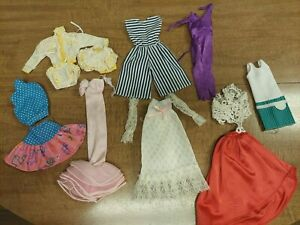Vintage  Barbie Doll Clothing Lot of 74 Pieces