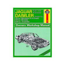 0478 Jaguar Xj12 XJS Sovereign Double Six 5.3 Petrol 72-88 (to F Reg) Haynes M