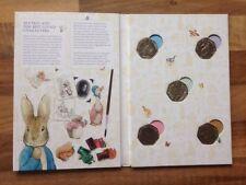Beatrix Potter 50p Coleccionistas álbum Inc conjunto completo de monedas x5 oficial Royal Mint